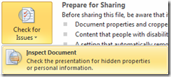Removing speaker notes from PowerPoint (2/4)