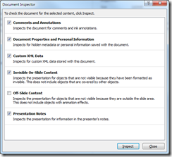 Removing speaker notes from PowerPoint (3/4)