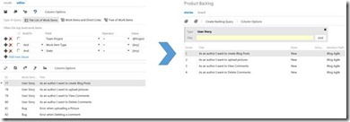 Changing the product backlog in TFS 2012 (1/6)