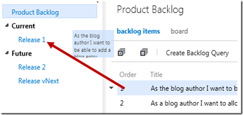TFS as perfect tool for Scrum (Part 2) – Product Backlog Grooming (6/6)