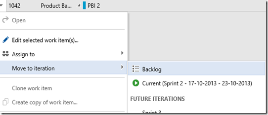 TFS as perfect tool for Scrum (Part 5) – Sprint Review and Retrospective (5/6)