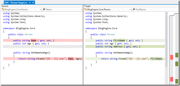 Use Visual Studio as your Diff and Merging Tool for local files (3/5)