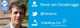 Rene van Osnabrugge | Visual Studio ALM MVP @ Delta-N