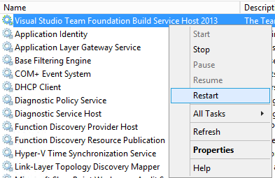 Error in TFS 2013 build – Could not load file or assembly 'Microsoft
