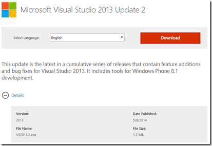 Download Visual Studio Web Installers as a complete package (1/3)
