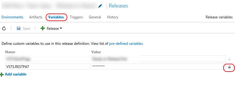Call VSTS REST API from Release Management | The Road to ALM