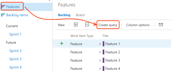 Order your VSTS Product Backlog based on the order within